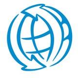 loga świat Zdjęcie Stock