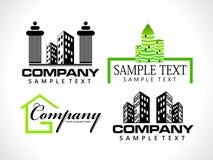 loga abstrakcjonistyczny korporacyjny szablon Fotografia Royalty Free