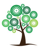 loga drzewa wektor Obrazy Stock