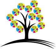 loga drzewo ilustracja wektor