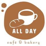 loga kawowy sklep Obraz Royalty Free