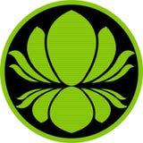 loga lotos Obraz Royalty Free