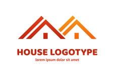 Loga projekta abstrakta domu wektoru szablon Zdjęcie Royalty Free