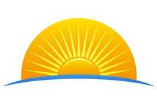 loga słońce Obraz Stock