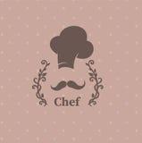 Loga szef kuchni Obrazy Stock