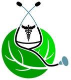 loga ziołowy traktowanie Zdjęcie Royalty Free