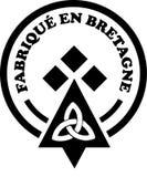 Loga zmyślenia bretonne ilustracja wektor