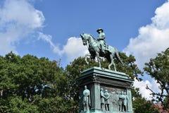 Logan Circle Park im Washington DC stockfotografie