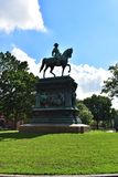 Logan Circle Park no Washington DC Imagens de Stock