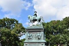 Logan Circle Park no Washington DC Foto de Stock Royalty Free