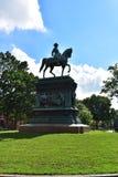 Logan Circle Park in Washington DC stock images