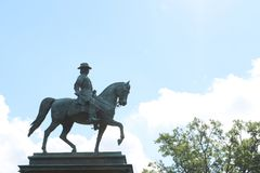 Logan Circle Park in Washington DC stock photos