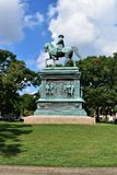 Logan Circle Park in Washington DC royalty free stock image