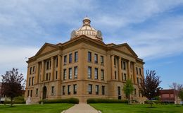 Logan County Courthouse Royalty Free Stock Photos