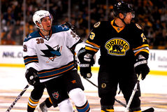 Logan Couture and Michael Ryder Stock Photo