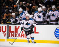 Logan Couture, San Jose Sharks Fotografie Stock