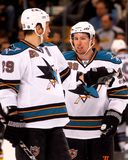 Logan Couture, San Jose Sharks fotos de stock