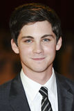 Logan Lerman Stock Fotografie