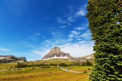 Logan Pass imagem de stock royalty free