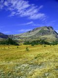 Logan pass,Bearhat Mountain royalty free stock photography