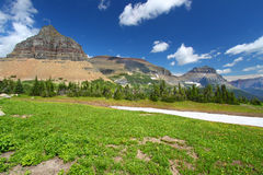 Logan Pass - Glacier National Park Stock Photography