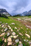 Logan Pass Glacier National Park Royalty Free Stock Photos