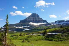 Logan Pass Royalty Free Stock Photography