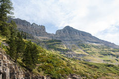 Logan Pass Vista Royalty Free Stock Images