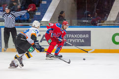 Logan Payet (39) vs Gharkov Pavel (25) Stock Image