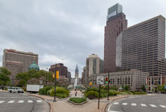 Logan Philadelphie carrée Images libres de droits
