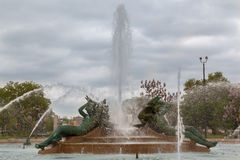 Logan Square Fountain Philadelphia Stock Photo