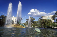 Logan Square Fountain in Philadelphia, PA Royalty Free Stock Photos