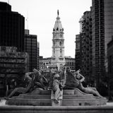 Logan Square Philadelphia Stock Image