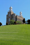 Logan Utah Mormon Temple Stock Images