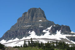 Logans Pass. In Glacier National Park Royalty Free Stock Images
