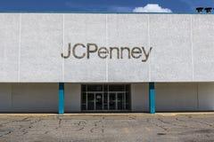 Logansport - vers en août 2017 : J récemment à volets C Penney Mall Location IX Images libres de droits