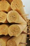 Logarithmes naturels cylindrique Images stock
