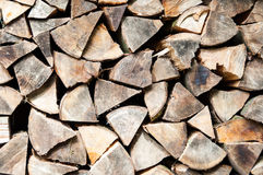 Logarithmes naturels empilés Photo libre de droits