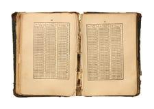 Logaritmtabeller. Arkivbild