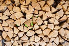 Logboek van hout Stock Foto's
