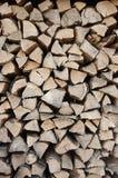 Logboeken van hout Stock Afbeeldingen