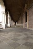 Loge av basilikapalladianaen i Vicenza, Italien Arkivbilder