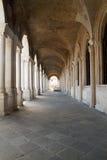 Loge av basilikapalladianaen i Vicenza, Italien Arkivfoton