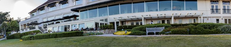 Loge chez Pebble Beach Images stock