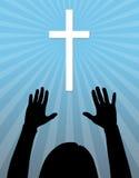 Éloge de Dieu Photos stock