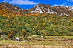 Loge de montagne Image stock