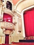 Loge de théatre de l'opéra de Bucarest Photos stock