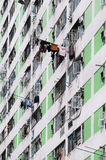 Logement à caractère social à haute densité, Hong Kong Photos libres de droits
