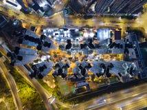 Logement à caractère social en Hong Kong photo libre de droits