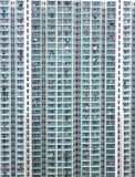 Logement à haute densité de Hong Kong Photos libres de droits